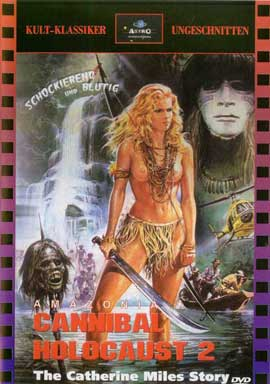 Amazonia: The Catherine Miles Story - 11 x 17 Movie Poster - German Style A
