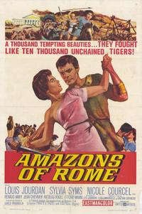 Amazons of Rome - 11 x 17 Movie Poster - Style A