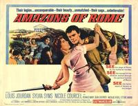 Amazons of Rome - 22 x 28 Movie Poster - Half Sheet Style A