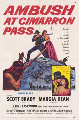Ambush at Cimarron Pass - 27 x 40 Movie Poster - Style A