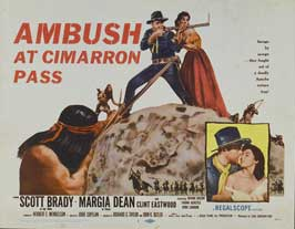 Ambush at Cimarron Pass - 11 x 14 Movie Poster - Style A