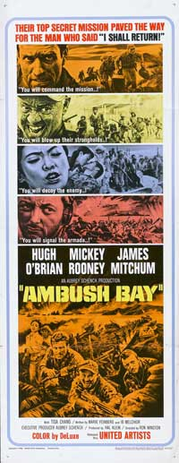 Ambush Bay - 14 x 36 Movie Poster - Insert Style A
