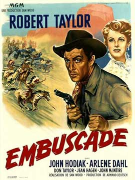 Ambush - 11 x 17 Movie Poster - French Style A