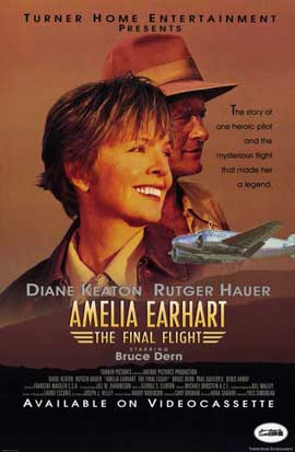 Amelia Earhart:  The Final Flight - 11 x 17 Movie Poster - Style A