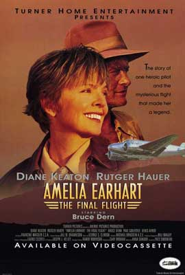 Amelia Earhart:  The Final Flight - 27 x 40 Movie Poster - Style A