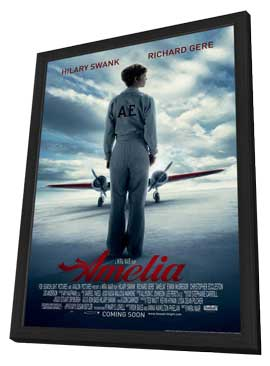 Amelia - 11 x 17 Movie Poster - Style A - in Deluxe Wood Frame