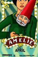 Amelie - 11 x 17 Movie Poster - Style F
