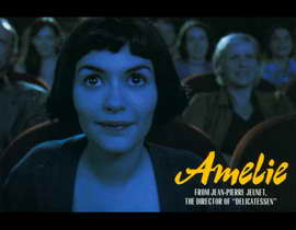 Amelie - 11 x 17 Movie Poster - Style D
