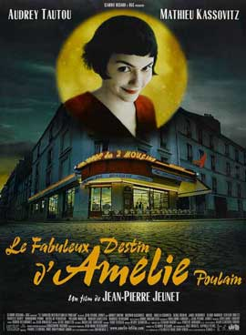 Amelie - 11 x 17 Movie Poster - French Style A