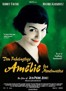Amelie - 11 x 17 Movie Poster - Danish Style A