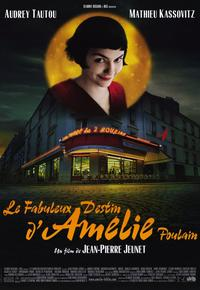 Amelie - 11 x 17 Movie Poster - Style B - Museum Wrapped Canvas