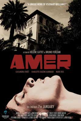 Amer - 11 x 17 Movie Poster - UK Style A