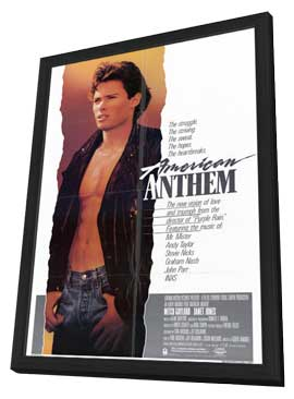 American Anthem - 11 x 17 Movie Poster - Style A - in Deluxe Wood Frame