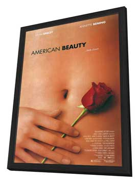 American Beauty - 11 x 17 Movie Poster - Style A - in Deluxe Wood Frame