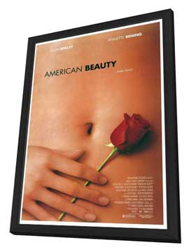 American Beauty - 27 x 40 Movie Poster - Style A - in Deluxe Wood Frame