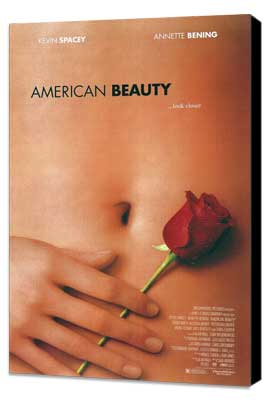 American Beauty - 27 x 40 Movie Poster - Style B - Museum Wrapped Canvas