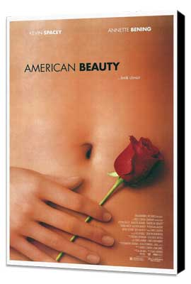 American Beauty - 27 x 40 Movie Poster - Style A - Museum Wrapped Canvas