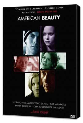 American Beauty - 27 x 40 Movie Poster - Style C - Museum Wrapped Canvas