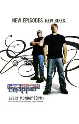 American Chopper: The Series - 11 x 17 TV Poster - Style A