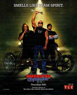 American Chopper: The Series - 11 x 14 TV Poster - Style A