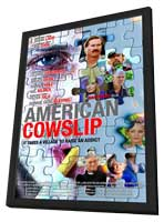 American Cowslip - 11 x 17 Movie Poster - Style A - in Deluxe Wood Frame