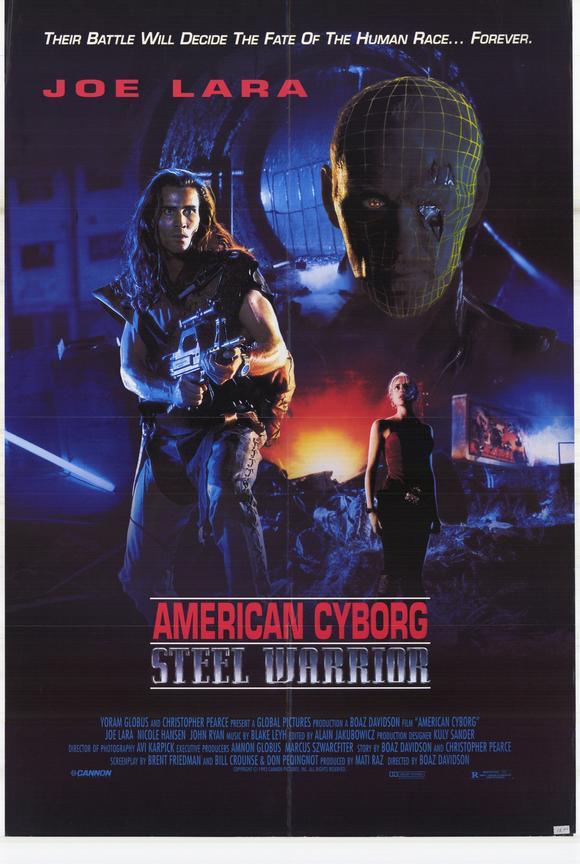 American Cyborg Steel Warrior Movie Posters From Movie