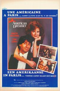 American Dreamer - 11 x 17 Movie Poster - Belgian Style A