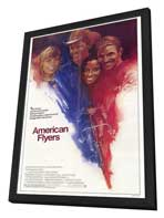 American Flyers - 27 x 40 Movie Poster - Style A - in Deluxe Wood Frame