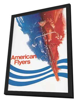 American Flyers - 27 x 40 Movie Poster - Style B - in Deluxe Wood Frame
