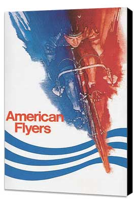 American Flyers - 27 x 40 Movie Poster - Style B - Museum Wrapped Canvas