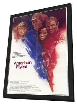 American Flyers - 11 x 17 Movie Poster - Style A - in Deluxe Wood Frame