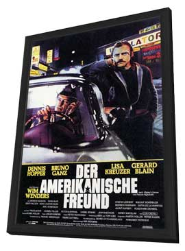 The American Friend - 11 x 17 Poster - Foreign - Style A - in Deluxe Wood Frame