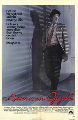American Gigolo - 11 x 17 Movie Poster - Style A