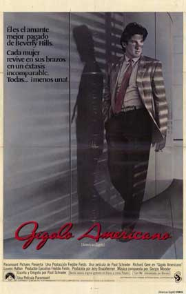 American Gigolo - 11 x 17 Movie Poster - Spanish Style A