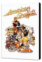 American Graffiti - 27 x 40 Movie Poster - Style C - Museum Wrapped Canvas