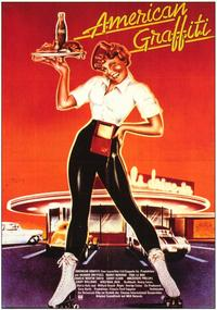 American Graffiti - 11 x 17 Movie Poster - German Style A