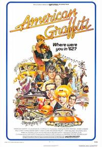 American Graffiti - 43 x 62 Movie Poster - Bus Shelter Style A