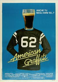American Graffiti - 11 x 17 Movie Poster - Italian Style A