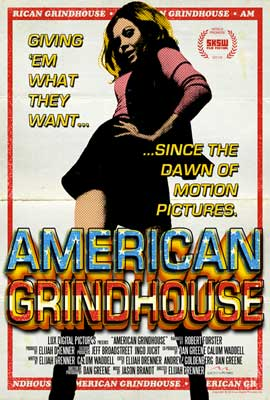 American Grindhouse - 43 x 62 Movie Poster - Bus Shelter Style A
