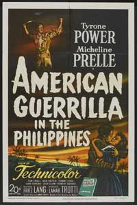 American Guerrilla in the Philippines - 27 x 40 Movie Poster - Style A