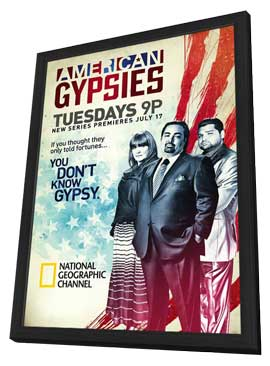 American Gypsies (TV) - 11 x 17 TV Poster - Style A - in Deluxe Wood Frame