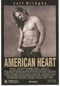 American Heart - 43 x 62 Movie Poster - Bus Shelter Style A
