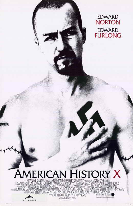 american history x tattoos. American History X - 11 x 17