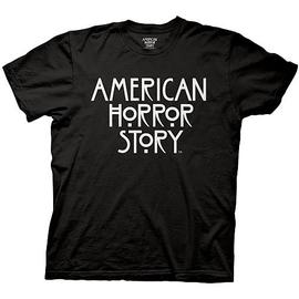 American Horror Story (TV) - Logo Black T-Shirt