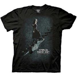 American Horror Story (TV) - Asylum Staircase Black T-Shirt