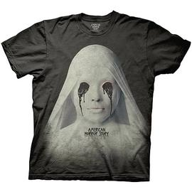 American Horror Story (TV) - Asylum White Nun Black T-Shirt