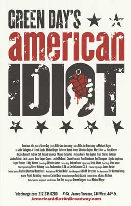American Idiot (Broadway) - 27 x 40 Poster - Style A