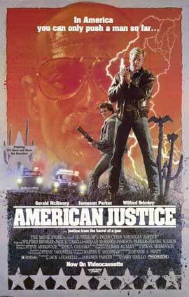 American Justice - 11 x 17 Movie Poster - Style A