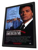 American Me - 11 x 17 Movie Poster - Style B - in Deluxe Wood Frame