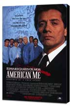 American Me - 11 x 17 Movie Poster - Style B - Museum Wrapped Canvas